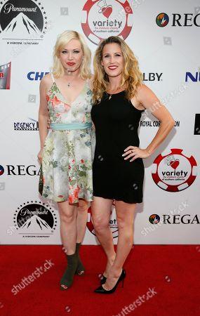 Adrienne Frantz and Rochelle Savory