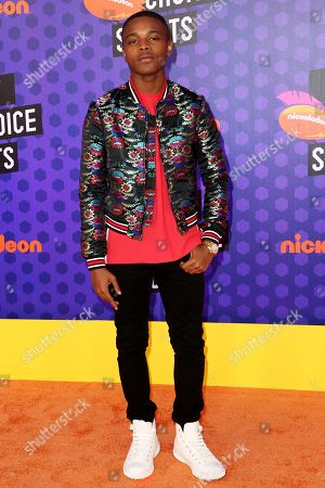 Editorial photo of Kids' Choice Sports Awards, Arrivals, Los Angeles, USA - 19 Jul 2018