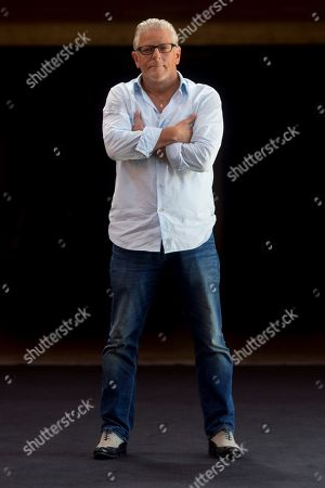 Prestigious choreographer of Belgium Jan Fabre poses at the premiere of his movie 'Belgian Rules', a four hours spectacle about the belgium culture, at Fesival Grec, in Barcelona , Spain, 19 July 2018.