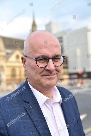 Iain Dale. Protest against antisemitism in the Labour Party in Parliament Square by the Campaign Against Antisemitism.