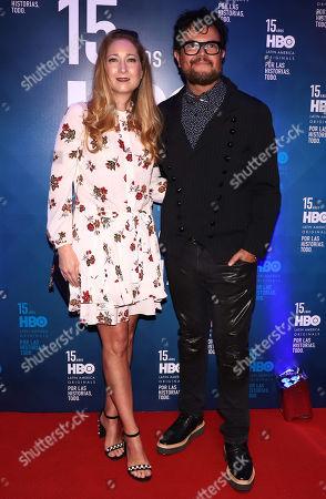Karen Coronado and Alex Syntek