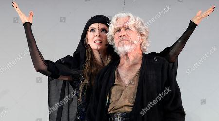 Juergen Prochnow and Pheline Roggan