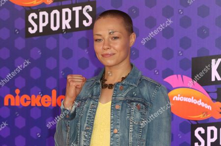 Stock Image of UFC fighter Rose Namajunas