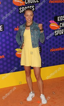 Editorial photo of Kid's Choice Awards Sports, Arrivals, Los Angeles, USA - 19 Jul 2018
