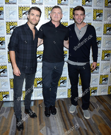 Paul Wesley, Kevin Williamson, James Wolk
