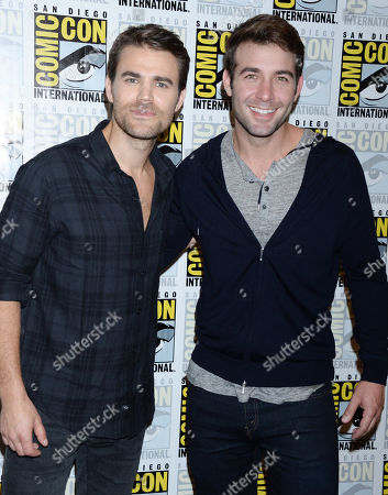 James Wolk and Paul Wesley