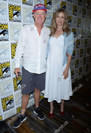 Marc McClure and Helen Slater