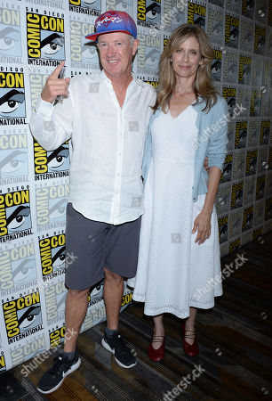 Stock Image of Marc McClure and Helen Slater