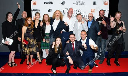 Editorial image of 'Of Gods and Warriors' film premiere, London, UK - 19 Jul 2018