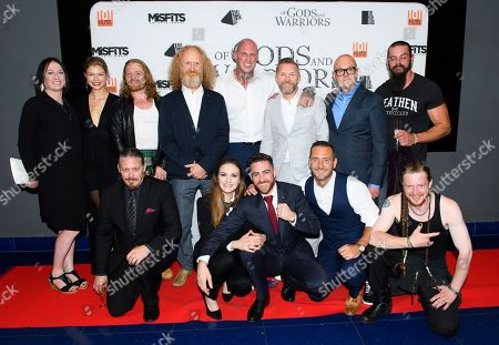 Editorial picture of 'Of Gods and Warriors' film premiere, London, UK - 19 Jul 2018