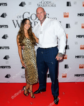 Martyn Ford and partner