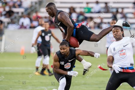 Editorial picture of AFFL Ultimate Final Godspeed vs Fighting Cancer, Houston, USA - 19 Jul 2018