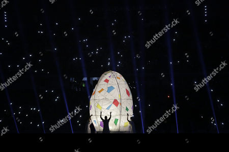 General view of the opening ceremony of the 23rd Central American and Caribbean Games, in Barranquilla, Colombia, 19 July 2018. The inauguration ceremony, which features Colombian international star Shakira as the main artist, began with the appearance of the former Miss Universe and Colombian model Paulina Vega in the center of the stadium at the Roberto Melendez Metropolitan Stadium in Barranquilla.
