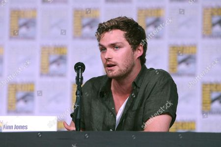 Finn Jones from Netflix 'Marvel's Iron Fist' at panel at San Diego Comic-Con 2018