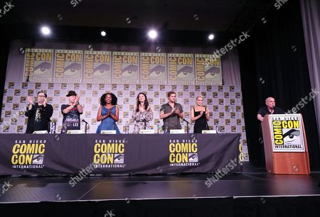 "Editorial image of Netflix presents ""Marvel's Iron Fist"" panel at San Diego Comic-Con 2018, San Diego, USA - 19 July 2018"