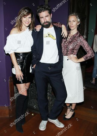 Stock Photo of Fuchsia Fuschia Sumner, Jack Guinness and Mickey Sumner