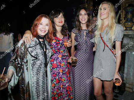 Editorial image of The Muse by Alexa Chung Launch Party at The Paramour Estate, Los Angeles, USA - 19 Jul 2018