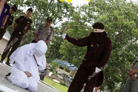 Public caning punishment, Jantho