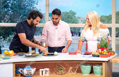 Editorial image of 'This Morning' TV show, London, UK - 20 Jul 2018