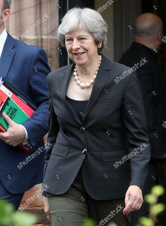 Prime Minister Theresa May visit to Northern Ireland