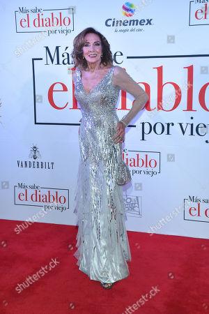 Editorial photo of 'Sabe mas el Diablo por Viejo' film premiere, Cinemex Antara, Mexico City, Mexico - 20 Jul 2018
