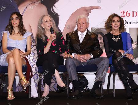 Sandra Echeverria, Isela Vega, Ignacio Lopez Tarso, Lorena Velaz