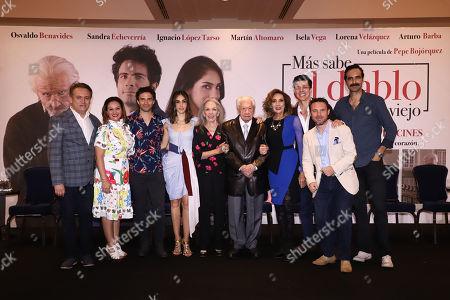 Antonio Ruiz, Monica Vargas, Osvaldo Benavides, Sandra Echeverri