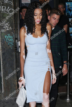 Winnie Harlow out and about, New York