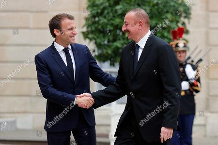 Ilham Aliyev vists Paris