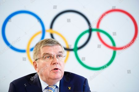International Olympic Committee press conference, Lausanne