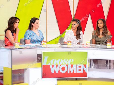 Andrea McLean, Lisa Riley, Katie Price, Samantha Mumba