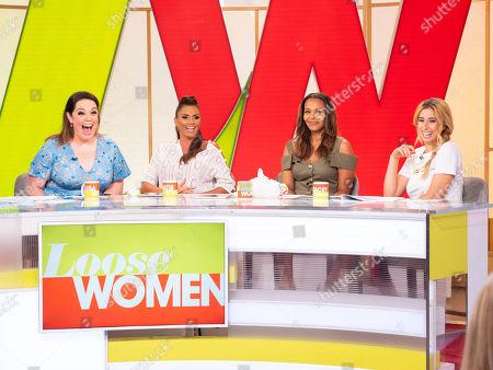 Lisa Riley, Katie Price, Samantha Mumba and Stacey Solomon