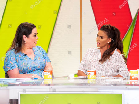 Stock Picture of Lisa Riley, Katie Price