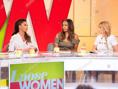 Katie Price, Samantha Mumba and Stacey Solomon