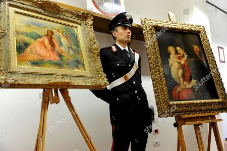 Police recover two stolen paintings, Monza