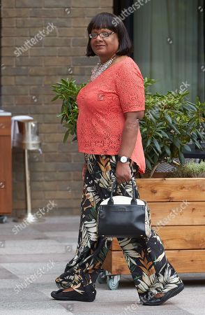 Diane Abbott out and about, London
