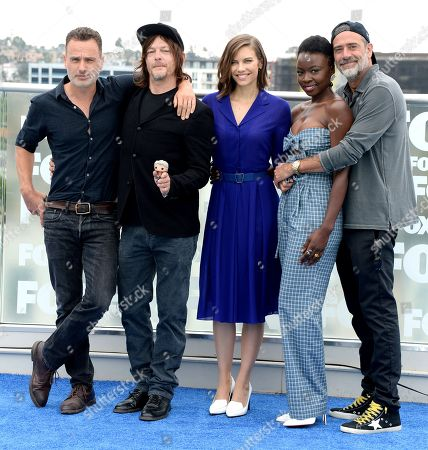 'The Walking Dead' TV show photocall, Comic-Con International, San Diego