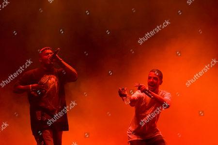 Editorial photo of SuperBock SuperRock Festival in Lisbon, Lisboa, Portugal - 20 Jul 2018