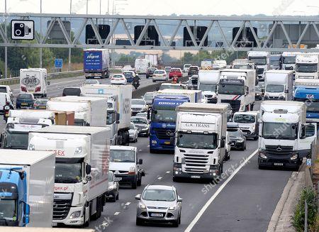 M25 traffic, Essex