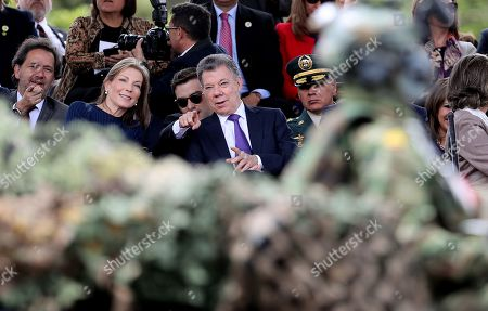Editorial picture of Military parade for the Independence of Colombia, in Bogota, Bogot?- 20 Jul 2018