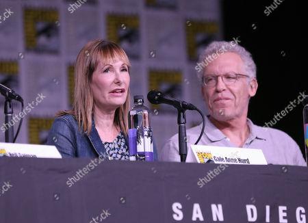 Gale Anne Hurd and Carlton Cuse