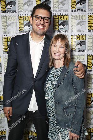 Sam Esmail and Gale Anne Hurd