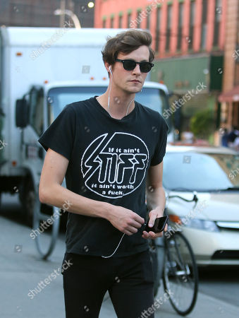 Editorial photo of Matthew Hitt out and about, New York, USA - 20 Jul 2018