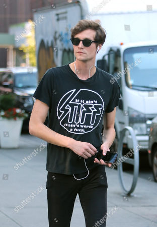 Editorial picture of Matthew Hitt out and about, New York, USA - 20 Jul 2018