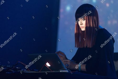 Stock Picture of Ana Matronic (DJ SET), Orbit Stage