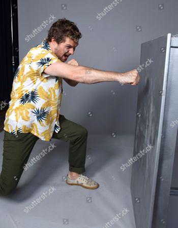 Editorial image of 'Iron Fist' TV show portraits, Comic-Con International, San Diego, USA - 20 Jul 2018