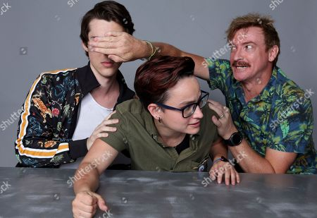 Stock Photo of Jeremy Shada, Bex Taylor-Klaus and Rhys Darby