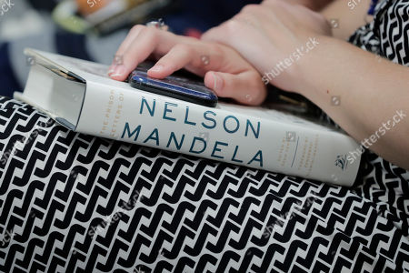 Editorial image of 'The Prison Letters of Nelson Mandela' book release, New York, USA - 20 Jul 2018