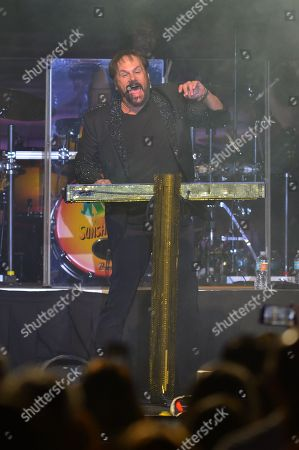 Harry Wayne Casey of KC and the Sunshine Band performs on satge at Hard Rock Event Center