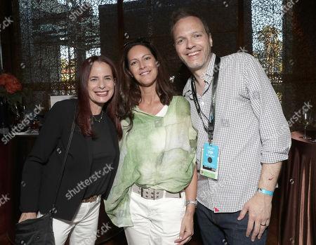 Amazon Studios Head of Casting Donna Rosenstein, Isa Hackett and Amazon Studios Head of Drama Marc Resteghini